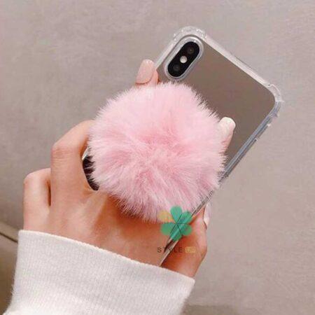 خرید هولدر انگشتی و پاپ سوکت گوشی موبایل مدل پشمالو