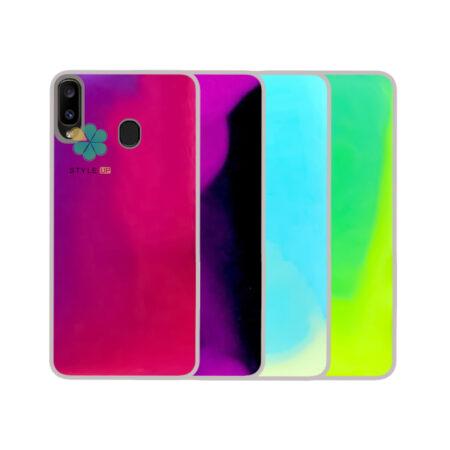 خرید قاب آکواریومی گوشی سامسونگ Samsung Galaxy A30 مدل شب رنگ