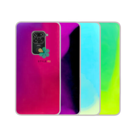 خرید قاب آکواریومی گوشی شیائومی Xiaomi Redmi Note 9 مدل شب رنگ