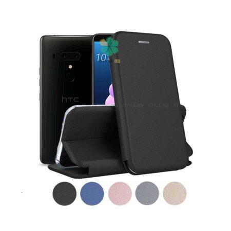 خرید کیف کلاسوری چرمی گوشی اچ تی سی HTC U12 Plus