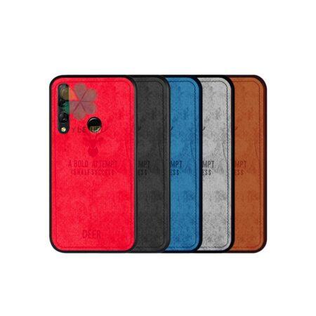 خرید قاب گوشی هواوی Huawei Nova 4 پارچه ای طرح گوزن