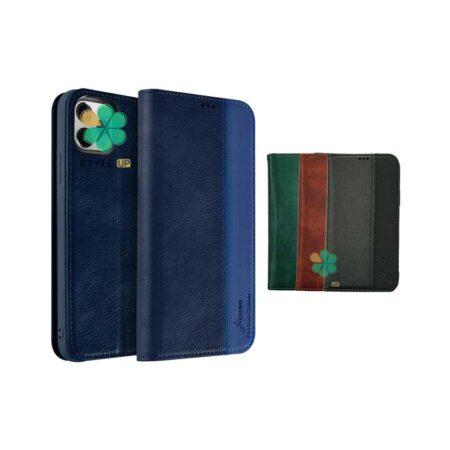 خرید کیف چرمی گوشی اپل ایفون Apple iPhone 12 Pro برند J-Case