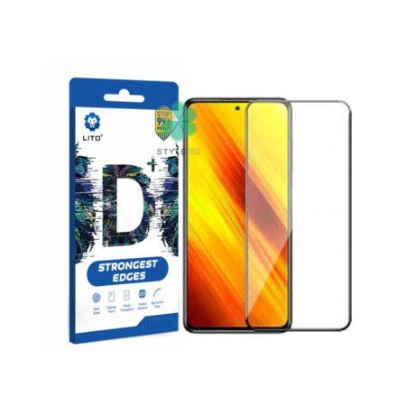 خرید گلس گوشی شیائومی Xiaomi Poco X3 مدل D+ LITO