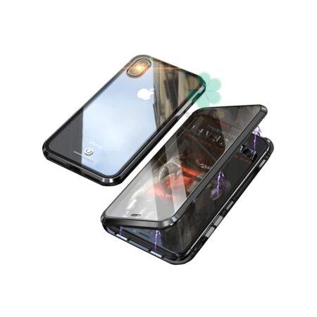 خرید محافظ 360 درجه شیشه ای مگنتی گوشی اپل Apple iPhone XS Max