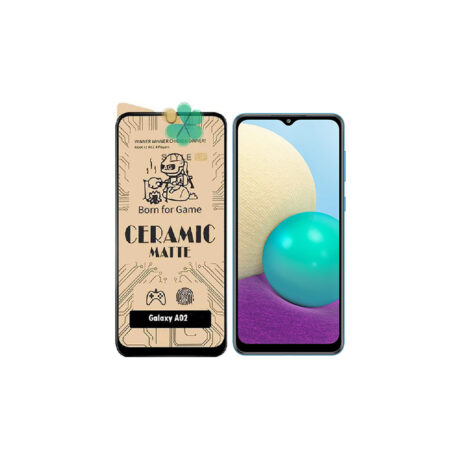 خرید گلس سرامیکی مات گوشی سامسونگ Samsung Galaxy A02
