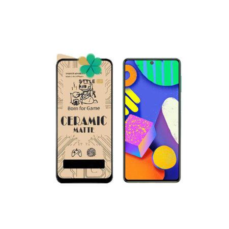 خرید گلس سرامیکی مات گوشی سامسونگ Samsung Galaxy F62