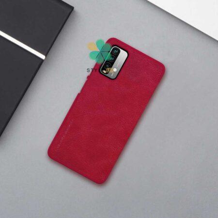 عکس کیف چرمی نیلکین گوشی شیائومی Xiaomi Redmi 9 Power مدل Qin