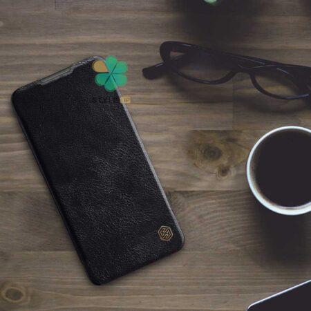خرید کیف چرمی نیلکین گوشی شیائومی Xiaomi Redmi 9 Power مدل Qin