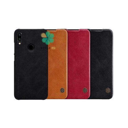 خرید کیف چرمی نیلکین گوشی شیائومی Xiaomi Redmi Note 7S مدل Qin