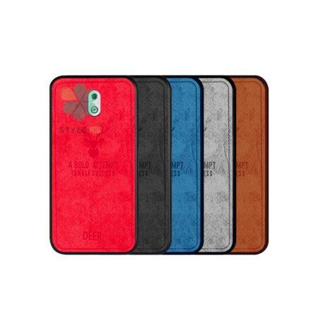 خرید قاب گوشی نوکیا Nokia 2.1 پارچه ای طرح گوزن