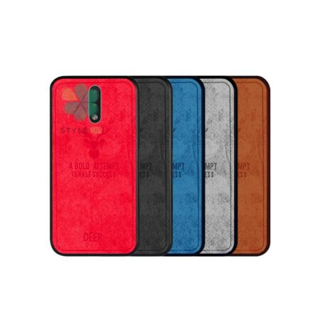 خرید قاب گوشی نوکیا Nokia 2.3 پارچه ای طرح گوزن