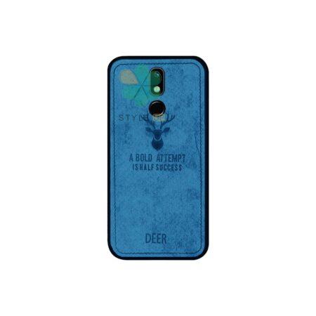خرید قاب گوشی نوکیا Nokia 3.2 پارچه ای طرح گوزن