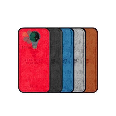 خرید قاب گوشی نوکیا Nokia 7.2 پارچه ای طرح گوزن