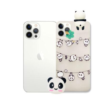 خرید قاب فانتزی گوشی اپل ایفون Apple iPhone 12 Pro Max مدل Panda