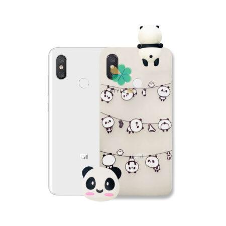 خرید قاب فانتزی گوشی شیائومی Xiaomi Mi 8 مدل Panda