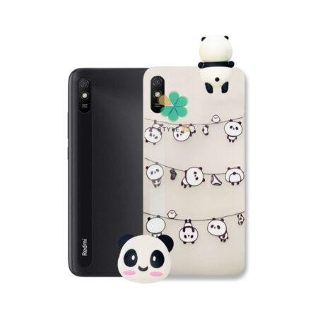 خرید قاب فانتزی گوشی شیائومی Xiaomi Redmi 9A مدل Panda