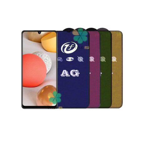 خرید گلس مات گوشی سامسونگ Samsung Galaxy A42 5G مدل Rainbow