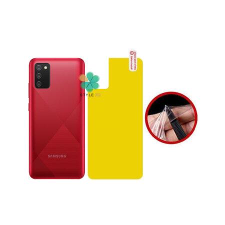 خرید برچسب محافظ نانو پشت گوشی سامسونگ Samsung Galaxy A02s