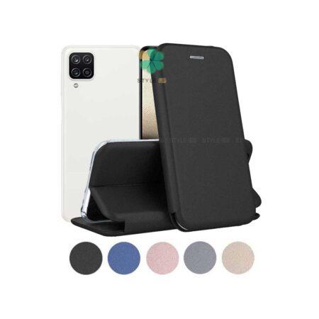 خرید کیف کلاسوری چرمی گوشی سامسونگ Samsung Galaxy A12