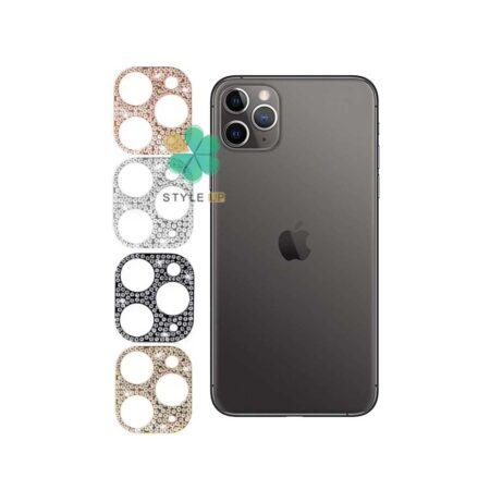 خرید محافظ لنز گوشی اپل آیفون Apple iPhone 11 Pro مدل نگین دار