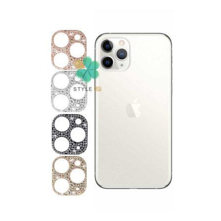 خرید محافظ لنز گوشی آیفون Apple iPhone 11 Pro Max مدل نگین دار