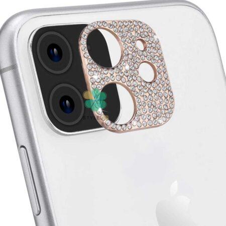 خرید محافظ لنز گوشی اپل آیفون Apple iPhone 12 مدل نگین دار