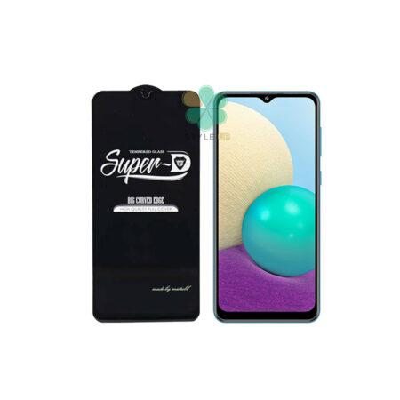 خرید گلس گوشی سامسونگ Samsung Galaxy A02 تمام صفحه Super D