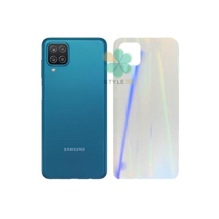 خرید برچسب نانو پشت گوشی سامسونگ Galaxy A12 مدل رنگین کمان