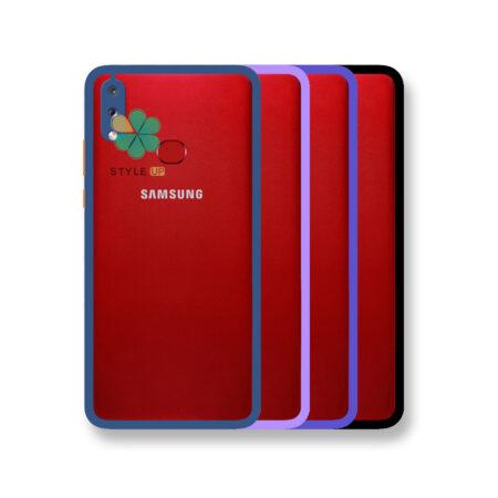 خرید قاب پشت شفاف گوشی سامسونگ Galaxy A10s مدل دور سیلیکونی