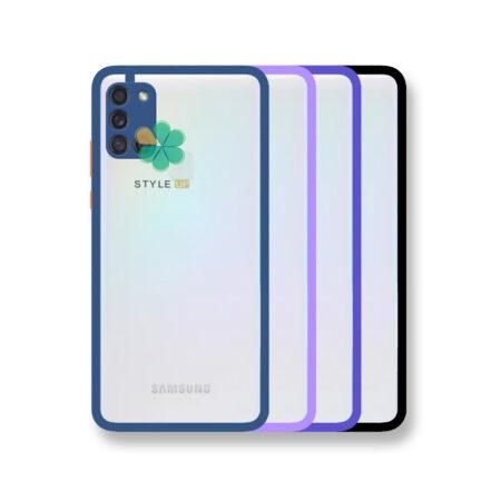 خرید قاب پشت شفاف گوشی سامسونگ Galaxy A21s مدل دور سیلیکونی