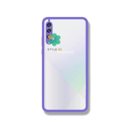 خرید قاب پشت شفاف گوشی سامسونگ Galaxy A30s / A50s مدل دور سیلیکونی