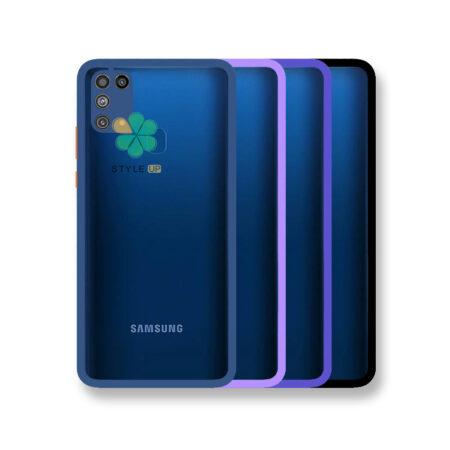 خرید قاب پشت شفاف گوشی سامسونگ Galaxy M31 مدل دور سیلیکونی