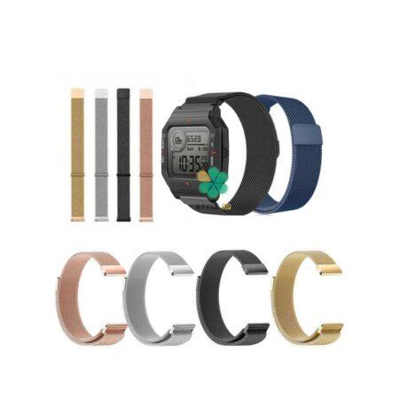 خرید بند ساعت شیائومی Xiaomi Amazfit Neo مدل Milanese