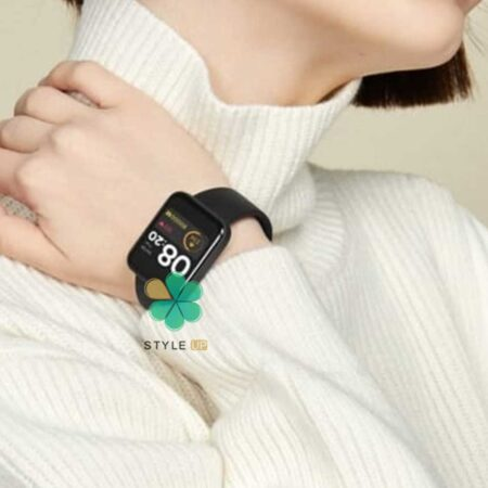 عکس بند ساعت شیائومی Xiaomi Mi Watch Lite مدل سیلیکونی نرم