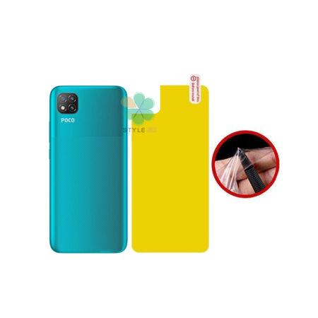 خرید برچسب محافظ نانو پشت گوشی شیائومی Xiaomi Poco C3