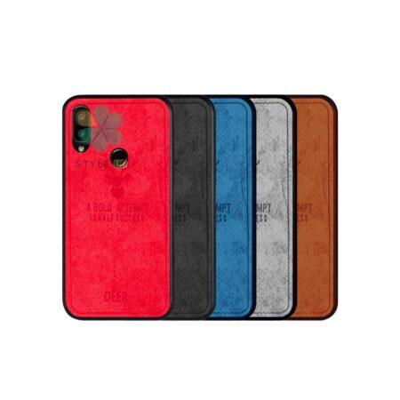 خرید قاب گوشی شیائومی Xiaomi Redmi Note 7S پارچه ای طرح گوزن