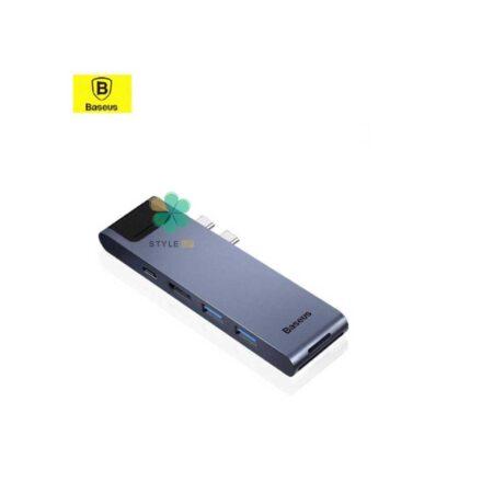 خرید هاب 7 پورت بیسوس مدل Baseus Thunderbolt C+Pro CAHUB-L0G