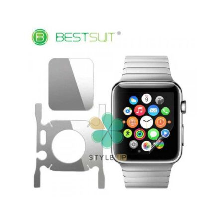 خرید محافظ صفحه و دور ساعت ژله ای Apple Watch 40mm مدل BestSuit
