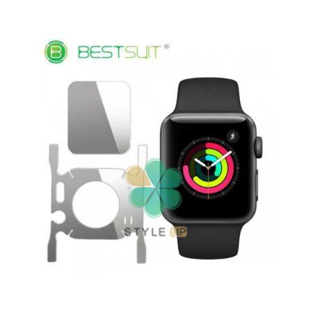 خرید محافظ صفحه و دور ساعت ژله ای Apple Watch 44mm مدل BestSuit