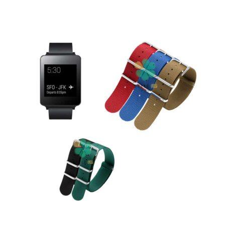 خرید بند ساعت ال جی LG G Watch W100 مدل Briston
