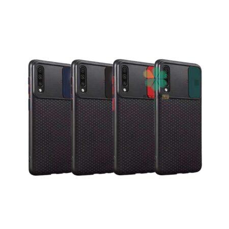 خرید کاور ضد ضربه گوشی سامسونگ Samsung Galaxy A70 مدل کم شیلد رنگی