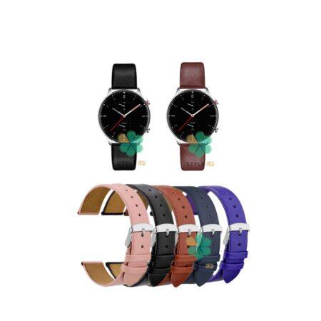 خرید بند ساعت آمازفیت Amazfit GTR 2e مدل Fancy Leather