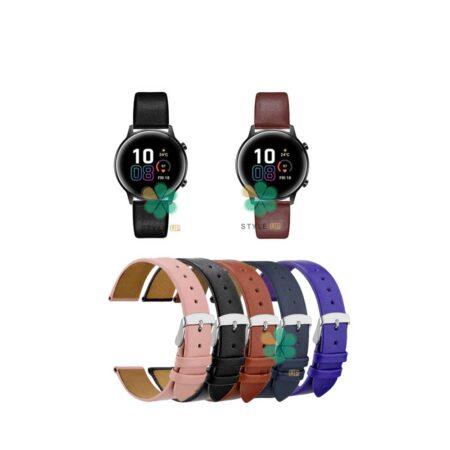 خرید بند ساعت هواوی Honor Magic Watch 2 42mm مدل Fancy Leather