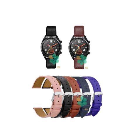 خرید بند ساعت هواوی واچ Huawei Watch GT مدل Fancy Leather