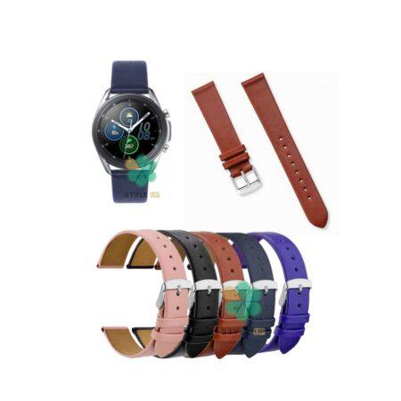 خرید بند ساعت سامسونگ Galaxy Watch 3 45mm مدل Fancy Leather