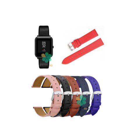 خرید بند ساعت شیائومی Xiaomi Amazfit Bip مدل Fancy Leather