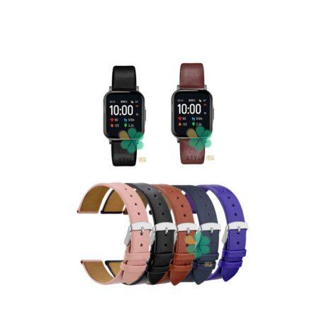 خرید بند ساعت شیائومی Xiaomi Haylou LS02 مدل Fancy Leather