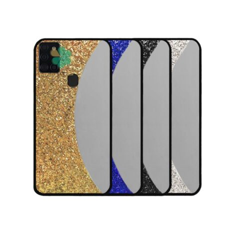 خرید قاب آینه ای گوشی سامسونگ Samsung Galaxy A21s مدل نیمه ماه
