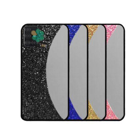 خرید قاب آینه ای گوشی سامسونگ Samsung Galaxy A51 مدل نیمه ماه