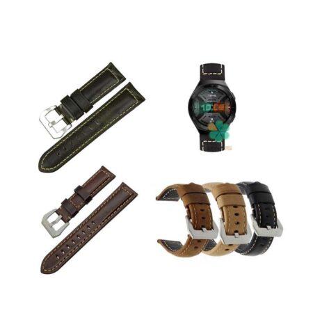 خرید بند چرمی ساعت هواوی واچ Huawei Watch GT 2e مدل Horse Genuine